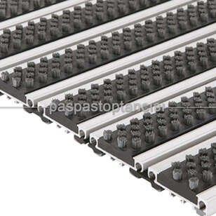 Alüminyum Paspas Fırça Fitilli PM4000 Siyah - Thumbnail
