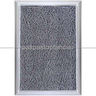 Paspas Toptancısı - Alüminyum Paspas Kıvırcık Hijyen Paspas HM1000 Gri (1)