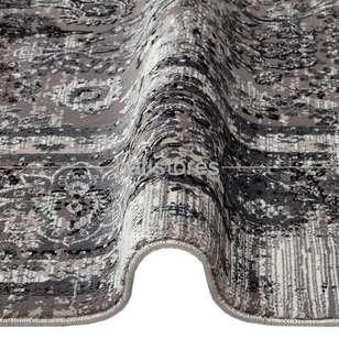 Halıstores - Bambu Halı Fresco 29 Gri-Siyah (1)