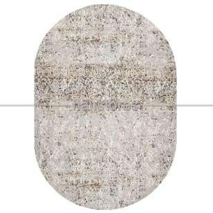 Bej Oval Halı Java 17531 - Thumbnail