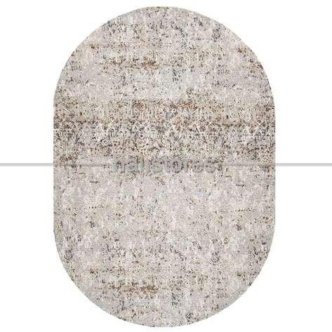 Bej Oval Halı Java 17531