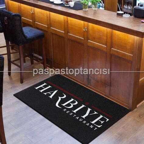 Cafe ve Restaurant Logolu Paspaslar