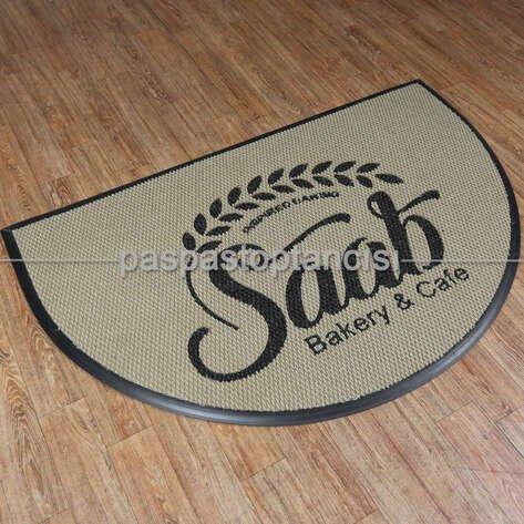 Cafelere Özel Logolu Paspas