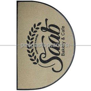 Cafelere Özel Logolu Paspas - Thumbnail