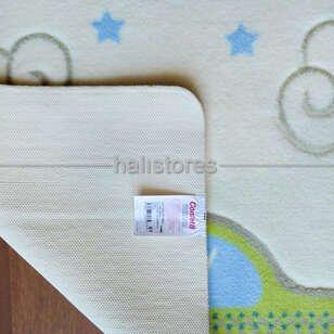 Confetti Baby Road Halı Beyaz - Thumbnail