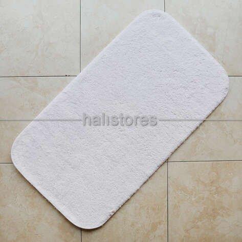 Confetti Banyo Halısı Cotton Calypso Beyaz