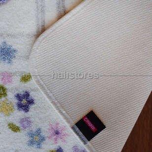 Confetti Banyo Halısı Spilled Flowers Mor - Thumbnail