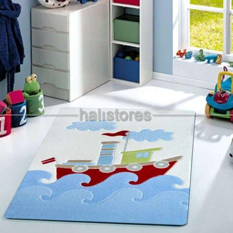 Confetti Çocuk ve Bebek Halıları Baby Ship