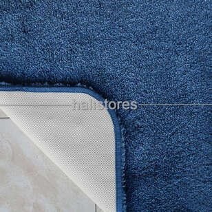 Confetti Yumuşak Tüylü Halı Miami Koyu Mavi - Thumbnail