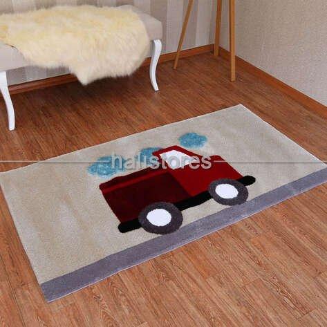Custom Design Araba Çocuk Odası Halısı