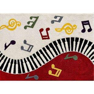 Custom Design Piyano Çocuk Halısı - Thumbnail