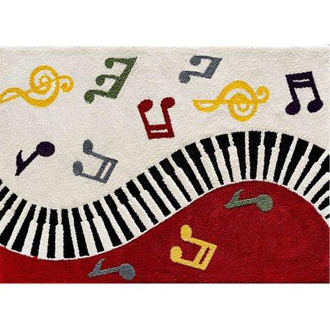 Custom Design Piyano Çocuk Halısı