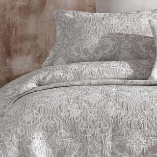 Elart - Elart Çift Kişilik Günlük Yatak Örtüsü Siena Gümüş (1)