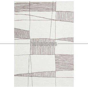 Etnik Desenli Kilim Palma PM 03 Vizon - Thumbnail