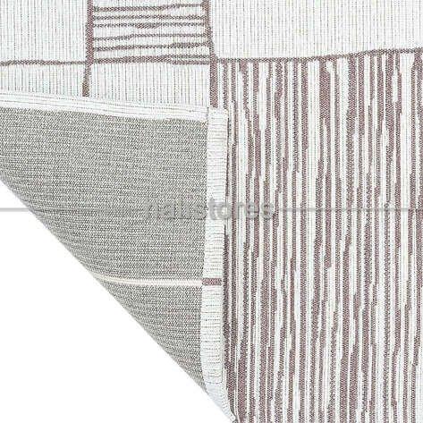 Etnik Desenli Kilim Palma PM 03 Vizon