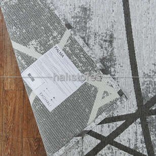 Etnik Desenli Kilim Palma PM 04 Bej - Thumbnail
