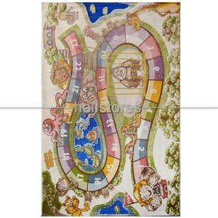 Festival Çocuk Halısı Seksek 8882A Renkli - Thumbnail