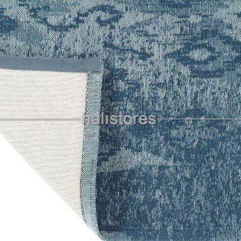 İnce Modern Salon Halısı 05 mavi