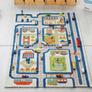 İvi Halı - İvi Halı Midivi Trafik Mavi (1)
