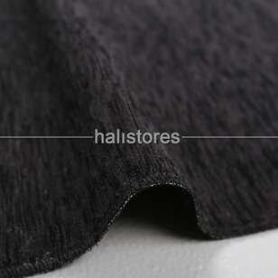 Liviadora - Kabe Örtüsü Desenli Siyah-Beyaz Dokuma Seccade (1)