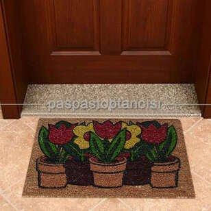 Kapı Paspası Çiçek 113-01 - Thumbnail