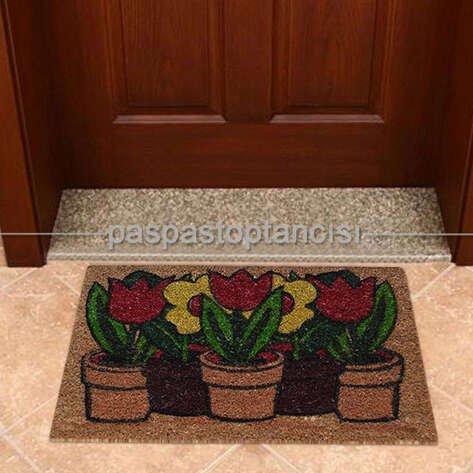 Kapı Paspası Çiçek 113-01