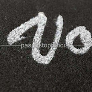 Kişiye Özel Logolu Siyah Koko Paspaslar - Thumbnail
