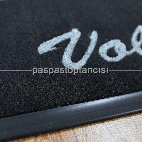 Kişiye Özel Logolu Siyah Koko Paspaslar