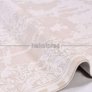 Halıstores - Klasik Bej Salon Halısı Royal 14505 (1)