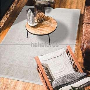 Klasik Çerçeveli Bej Salon Halısı İnfinity 7505 - Thumbnail