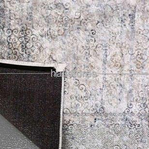 Klasik Desenli Gri Halı Zen 1782 - Thumbnail