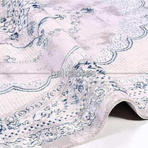 Klasik Mavi Salon Halısı Babil 2005MV
