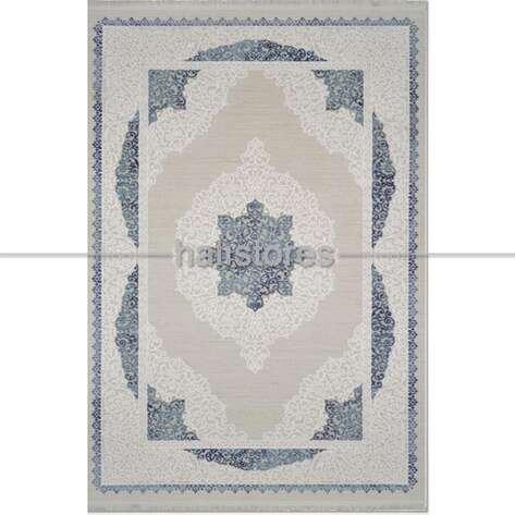 Klasik Mavi Salon Halısı Bella 1001GM