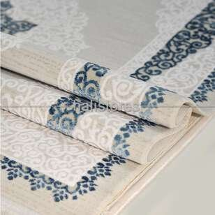 Klasik Mavi Salon Halısı Bella 1001GM - Thumbnail