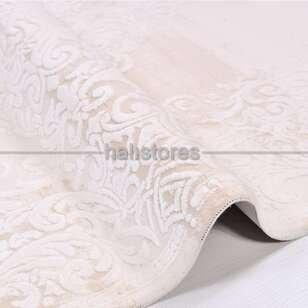 Halıstores - Klasik Pudra Salon Halısı Karen 6110A (1)