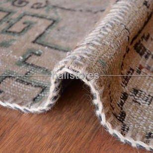 Liviadora Antik Patchwork Halı Bej - Thumbnail
