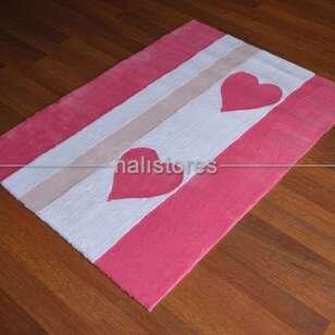 Liviadora Kalpli Halı 027 Pink - Thumbnail