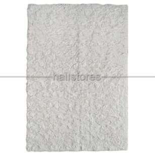 Liviadora Micropost Tüylü Yolluk Halı Beyaz - Thumbnail