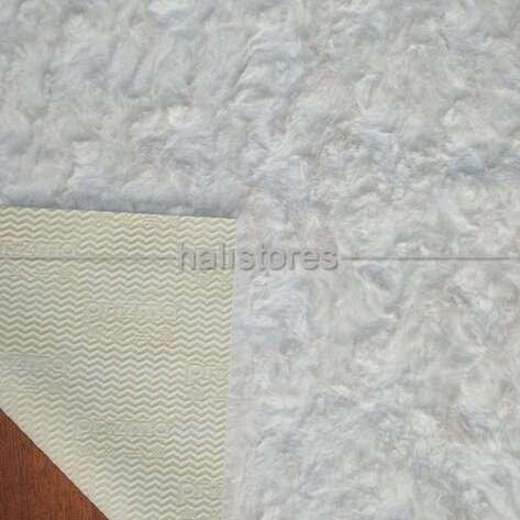 Liviadora Micropost Tüylü Yolluk Halı Beyaz