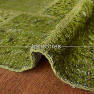 Liviadora Patchwork Halı Fıstık Yeşili - Thumbnail