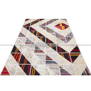 Liviadora Tasarım Patchwork Halı Art MD4079 - Thumbnail