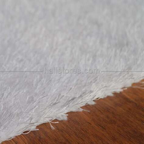 Liviadora Tüylü Halı Beyaz