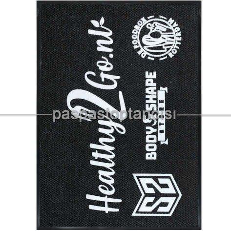 Markalar için Logolu Halı Paspas