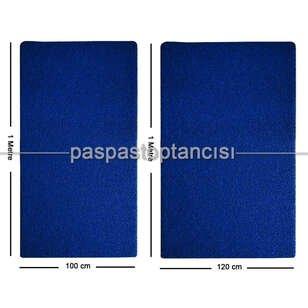 Mavi Kıvırcık Paspas 16 mm - Thumbnail
