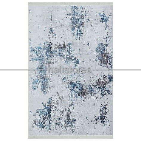 Mavi Pamuklu Halı 1763 01
