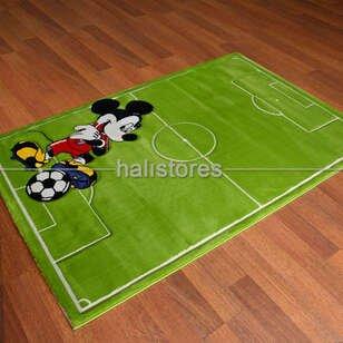Mickey Mouse Futbol Çocuk Halısı Kids 997 - Thumbnail