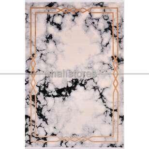 Modern Çerçeveli Salon Halısı Kristal 18113 - Thumbnail