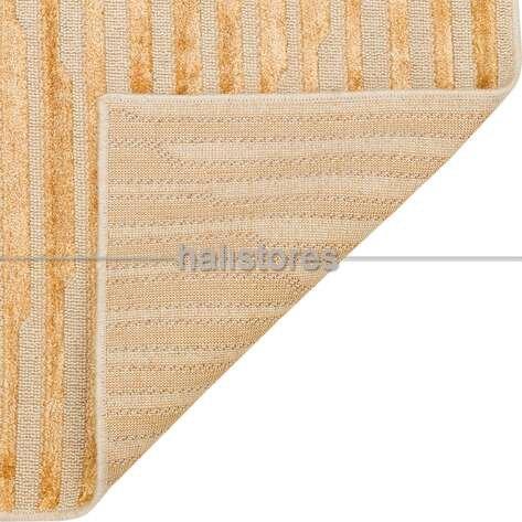 Modern Desenli Antilk Gold Halı Zenith ZNT 02 Dyed