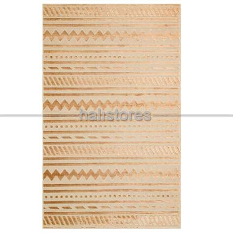 Modern Desenli Antilk Gold Halı Zenith ZNT 06 Dyed