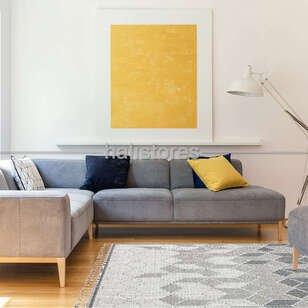Modern Desenli Gri Halı Soho SH 03 - Thumbnail